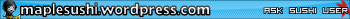 AskSushi UserBar2